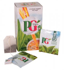 Traveling?  Get  PG individually wrapped tea bags.