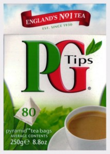 The classic 80 tea bag box.