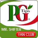 PG Tips Mr Shifter Fan Club