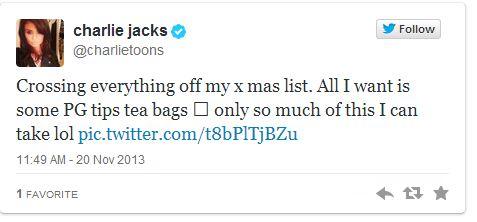 charlie jacks tweet