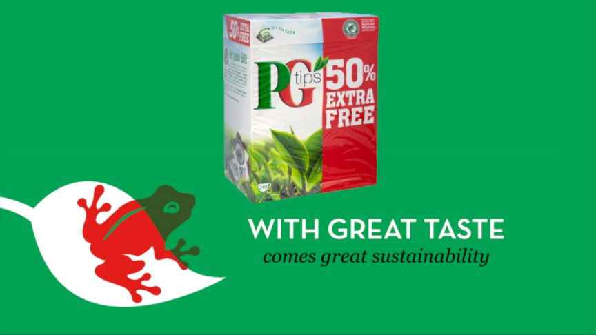PG Tips: With Great Taste Comes With Great Sustainability