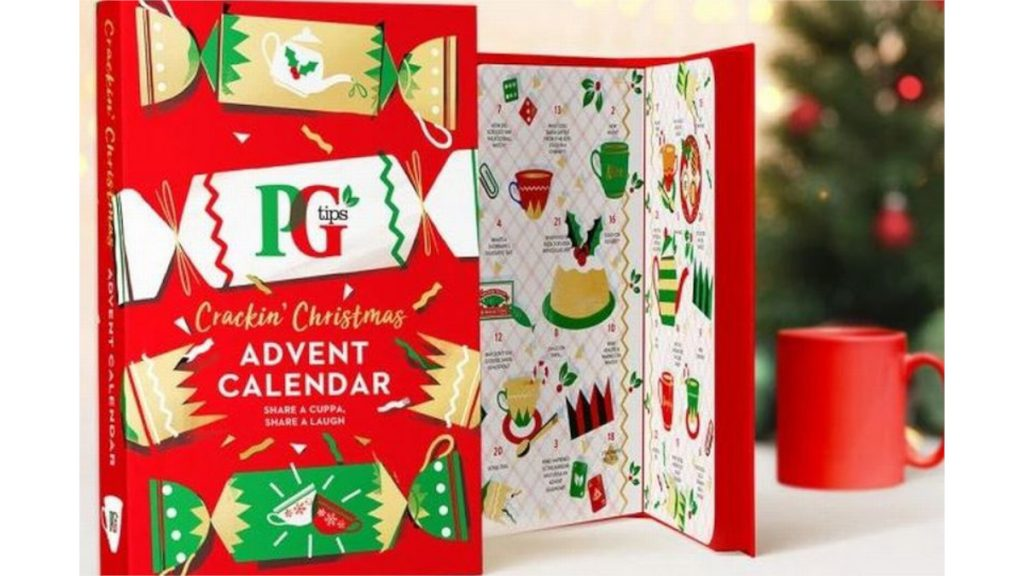 PG Tips advent calendar for  £7.